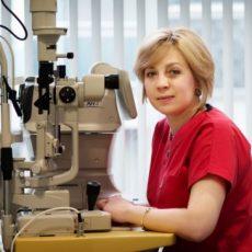 Д-р Мая Минева - Очен лекар град Пловдив